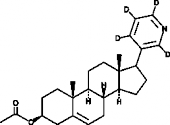 Abiraterone Acetate-d<sub>4</sub>