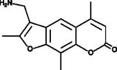 4'-Aminomethyl-4,5',8-trimethyl<wbr/>psoralen