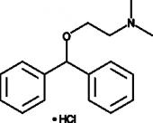 Diphenhydra<wbr/>mine (hydro<wbr/>chloride)