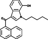 JWH 018 7-<wbr/>hydroxyindole metabolite
