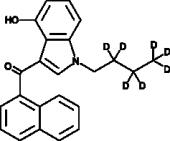 JWH 073 4-<wbr/>hydroxyindole metabolite-<wbr/>d<sub>7</sub>