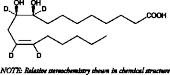 (±)9(10)-<wbr/>DiHOME-d<sub>4</sub>