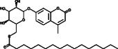 4-<wbr/>Methyl<wbr/>umbelliferyl 6-<wbr/>thio-<wbr/>Palmitate-<wbr/>β-<wbr/>D-<wbr/>Gluco<wbr/>pyranoside