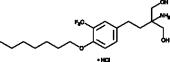 Amiselimod (hydro<wbr/>chloride)