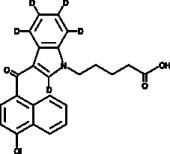 JWH 398 N-<wbr/>pentanoic acid metabolite-<wbr/>d<sub>5</sub>