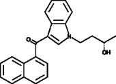 (S)-<wbr/>(+)-<wbr/>JWH 073 N-<wbr/>(3-<wbr/>hydroxybutyl) metabolite