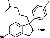 Citalopram (hydro<wbr>bromide)