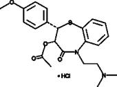 Diltiazem (hydro<wbr/>chloride)