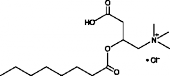 Octanoyl-DL<wbr/>-carnitine (chloride)