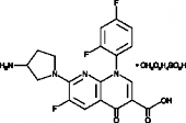 Tosufloxacin (tosylate)