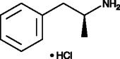 D-<wbr/>Amphetamine (hydro<wbr>chloride)