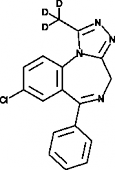 Alprazolam-<wbr/>d<sub>3</sub>