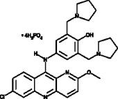 Pyronaridine (phosphate)