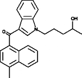 JWH 122 N-<wbr/>(4-<wbr/>hydroxypentyl) metabolite