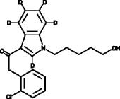 JWH 203 N-<wbr/>(5-<wbr/>hydroxypentyl) metabolite-<wbr/>d<sub>5</sub>