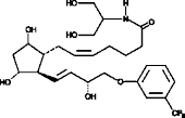 Fluprostenol serinol amide