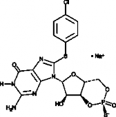 Rp-8-pCPT-Cyclic GMPS (sodium salt)