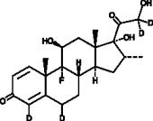 Dexamethasone-d<sub>4</sub>