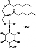 PtdIns-<wbr/>(4)-<wbr/>P<sub>1</sub> (1,2-<wbr/>dihexanoyl) (sodium salt)