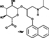 Propranolol β-D-<wbr/>Glucuronide (sodium salt)