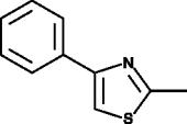 2-<wbr/>methyl-<wbr/>4-<wbr/>phenyl Thiazole