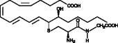 14,15-<wbr/>Leukotriene D<sub>4</sub>