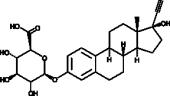 Ethynyl Estradiol 3-β-D-Glucuronide (hydrate)