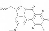 Indomethacin-d<sub>4</sub>