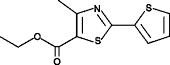 ethyl 4-<wbr/>methyl-<wbr/>2-<wbr/>(2-<wbr/>thienyl)-<wbr/>thiazole-<wbr/>5 Carboxylate