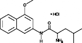 L-<wbr/>Leucine 4-<wbr/>methoxy-<wbr/>β-<wbr/>naphthylamide (hydro<wbr>chloride)