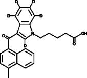 MAM2201 N-<wbr/>pentanoic acid metabolite-<wbr/>d<sub>5</sub>
