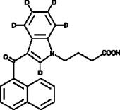 JWH 073 N-<wbr/>butanoic acid metabolite-<wbr/>d<sub>5</sub>