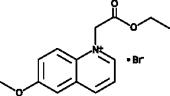 1-(Ethoxy<wbr/>carbonylmethyl)-<wbr/>6-methoxy<wbr/>quinolinium (bromide)
