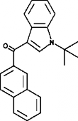JWH 073 2'-<wbr/>naphthyl-<wbr/>N-<wbr/>(1,1-<wbr/>dimethylethyl) isomer