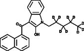 JWH 018 2-<wbr/>hydroxyindole metabolite-<wbr/>d<sub>9</sub>