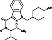 AB-<wbr/>CHMINACA metabolite M1A