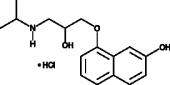 <em>rac</em>-7-hydroxy Propranolol (hydrochloride)