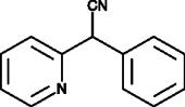 α-<wbr/>Phenyl-<wbr/>α-<wbr/>(2-<wbr/>pyridyl)acetonitrile