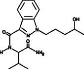 AB-<wbr/>PINACA N-<wbr/>(4-<wbr/>hydroxypentyl) metabolite