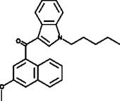 JWH 081 3-<wbr/>methoxynaphthyl isomer
