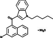 JWH 398 3-<wbr/>chloronaphthyl isomer (hydrate)