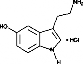 Serotonin (hydro<wbr>chloride)