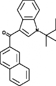 JWH 018 2'-<wbr/>naphthyl-<wbr/>N-<wbr/>(1,1-<wbr/>dimethylpropyl) isomer