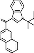 JWH 018 2'-<wbr/>naphthyl-<wbr/>N-<wbr/>(1,1-<wbr/>dimethylpropyl) isomer
