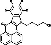 JWH 073 N-<wbr/>(4-<wbr/>hydroxybutyl) metabolite-<wbr/>d<sub>5</sub>