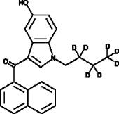 JWH 073 5-<wbr/>hydroxyindole metabolite-<wbr/>d<sub>7</sub>
