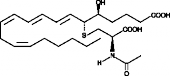 N-<wbr/>acetyl Leukotriene E<sub>4</sub>