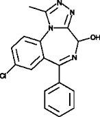 4-hydroxy Alprazolam