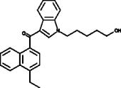 JWH 210 N-<wbr/>(5-<wbr/>hydroxypentyl) metabolite