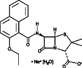 Nafcillin (sodium salt hydrate)
